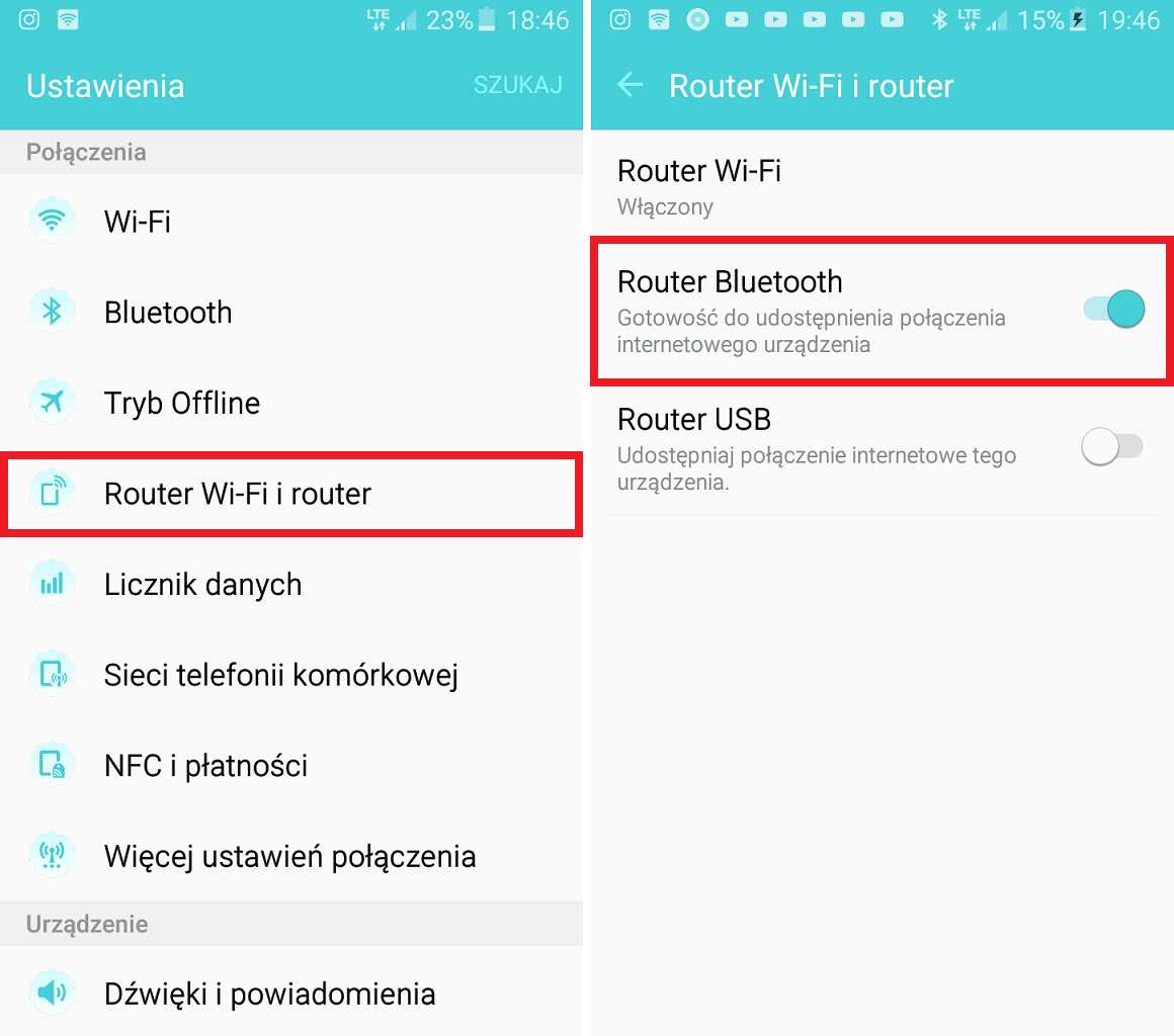 Router Bluetooth