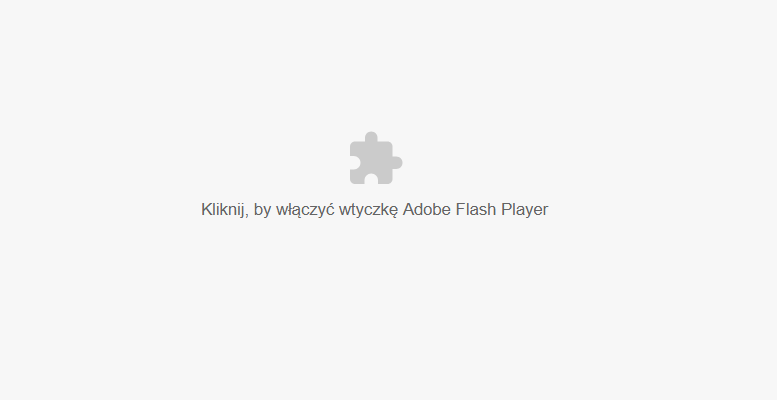 Jak włączyć Adobe Flash Player w Google Chrome